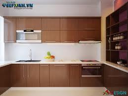 Tủ bếp gỗ dổi 005