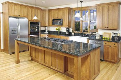 Tủ bếp gỗ tự nhiên xoan đào gia lai