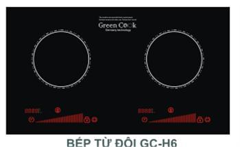 BẾP ĐIỆN TỪ GREEN COOK GC H6