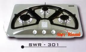 Bếp ga âm inox Rinnai SWR 301