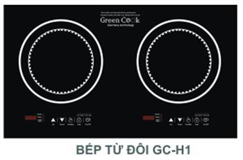 BẾP TỪ ĐÔI GREEN COOK GC H1