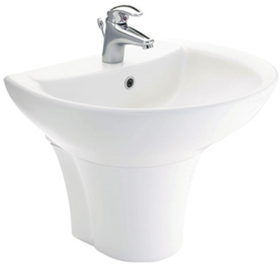 Chậu lavabo Toto LT942CK/PT942HFK