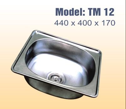 Chậu rửa bát tân mỹ TM12
