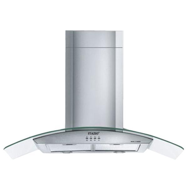 Máy hút mùi kính cong Itazio IT-9068ST