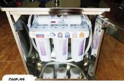 Máy lọc nước Nano Geyser 4 lõi(inox thường)