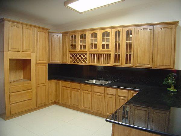 Tủ bếp gỗ Xoan đào Gia Lai 04